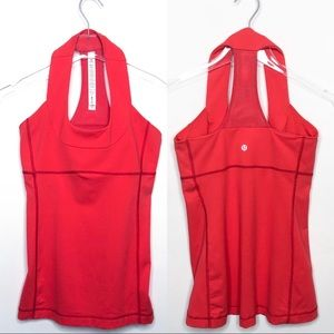 Lululemon Scoop Neck Racerback Tank, Size 6